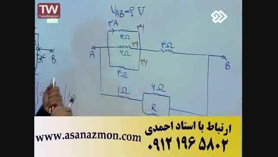 حل سوالات کنکور سراسری فیزیک و نکات مشاوره ای 23