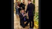 مراسم احمقانه ازدواج همجنس بازان نظامی در کاخ سفید