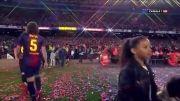 مسی و تیاگو کوچولو در جشن قهرمانی♥♥♥