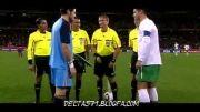 تمام حرکات رونالدو در بازی با اسپانیا (جام جهانی 2010)