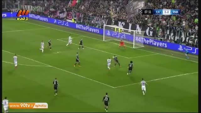 گل اول یوونتوس به رئال مادرید (موراتا)