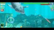 بازی Hungry Shark (ایفون 5)