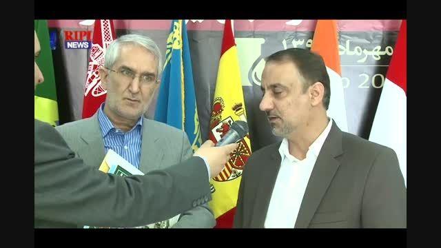 مصاحبه دكتر امیری نماینده مجلس با واحد خبر پژوهشگاه