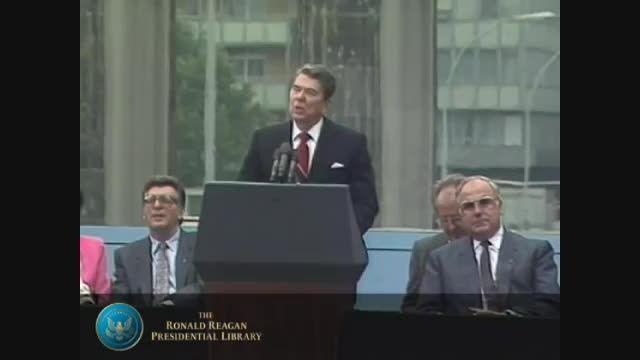 سخنرانی رونالد ریگان در برلین غربی