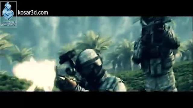بخش هایی از انیمیشن سینمایی «نبرد خلیج فارس ۲»-بخش دوم