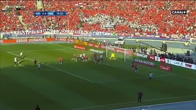 خلاصه فینال جام ملتهای آمریکای جنوبی/ شیلی - آرژانتین