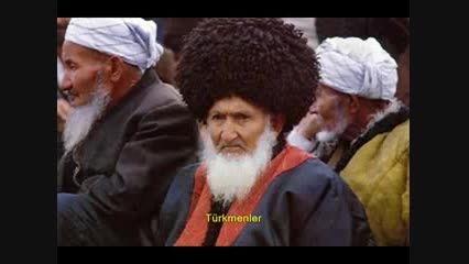 ترکان، سومریان، سکاها و اتروسک ها (ترکان باستان)