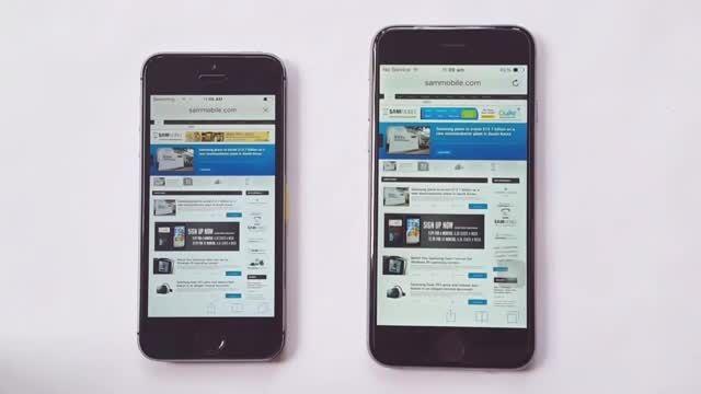 iPhone 6 vs iPhone 5S Speed Test