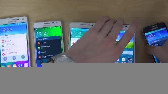 Samsung Galaxy A5 vs. Galaxy A3 vs. Galaxy Alpha vs. S5
