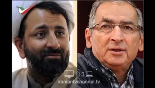 مناظره سیاسی صادق زیباکلام و احمد رهدار