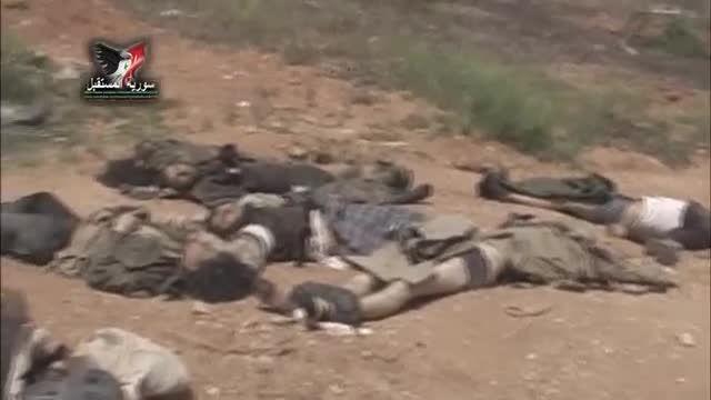 القلمون - هلاکت صدها تکفیری النصره بدست ارتش سوریه