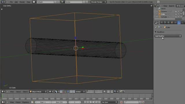 ۰۶ − سری آموزشی مدلینگ در Blender از CGCookie