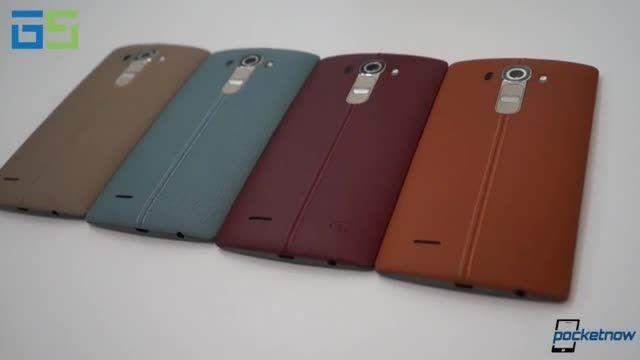 مقایسه کامل LG G4 با  ال جی  LG G3