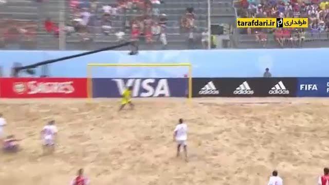پاراگوئه ۴-۲ ماداگاسکار (جام جهانی فوتبال ساحلی)