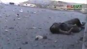 کشته شدن تروریست وهابی توسط تک تیرانداز ارتش سوریه