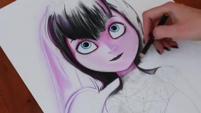 نقاشی حرفه ای میویس