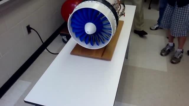 پرینتر سه بعدی ساخت موتور جت
