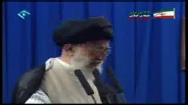 سخنرانی مقام معظم رهبری در رابطه با اقای هاشمی...