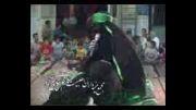 تعزیه شهادت حضرت زهرا (س) - قسمت { شانه کردن موی حضرت زینب(س) } خیمه داران - کاشان 90