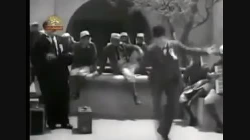 رقص لورل و هاردی با آهنگ بارون بارونه گروه رستاک
