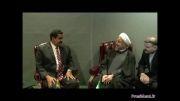 دیدار آقای روحانی با رئیس جمهور ونزوئلا