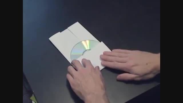 ساخت پاکت برای CD یا DVD