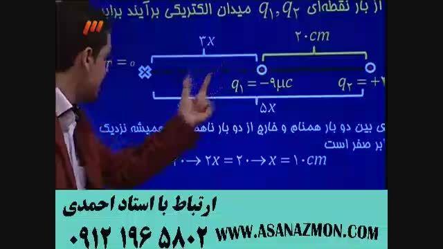 آموزش و حل مثال کنکور درس فیزیک بصورت حرفه ای - 10