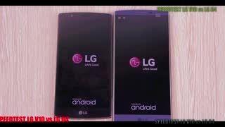 تست سرعت LG V10 با LG G4