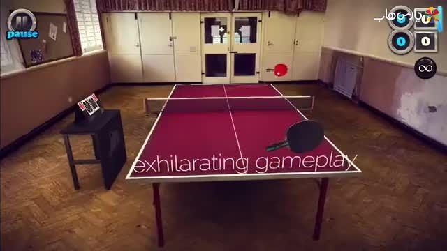 بازی Table Tennis Touch با نصب خودکار دیتا