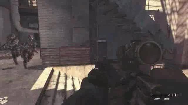 گیم پلی از call of duty ghosts توسط خودم!(Part 1)