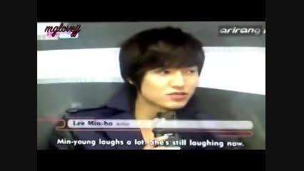ویژگی خاص مین یانگ از زبان لی مین هو!(بامزه ست!)
