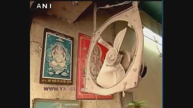 لحظه وقوع زلزله 7.7 ریشتری در پاکستان