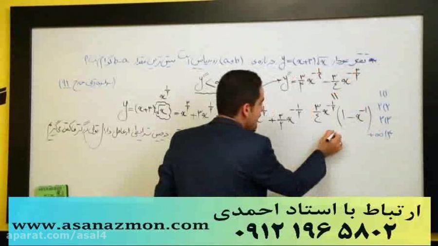 جدیدترین تدریس مهندس مسعودی کنکور (مشتق3) کنکوری 23