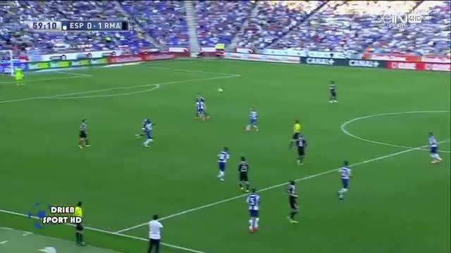 رئال مادرید 1 - 0 اسپانیول (گل اول کریستیانو رونالدو)