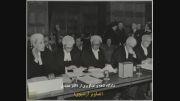 تصاویری از دکتر مصدق در دادگاه لاهه