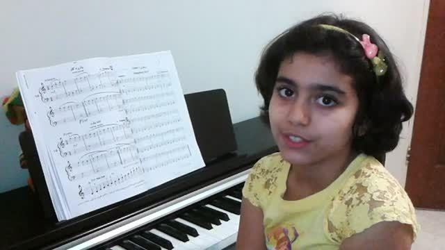 سمفونی 9 بتهوون نوازندگی پیانو توسط مژده آقادادشی