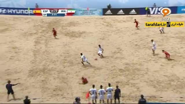 اسپانیا 5-6 ایران (جام جهانی فوتبال ساحلی)