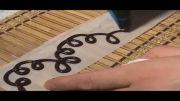 Roozmenu.com - آموزش تزئین کیک با خامه و شکلات طرحدار