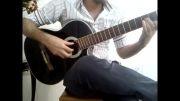 ملودی  سلطان قلبها- گیتار