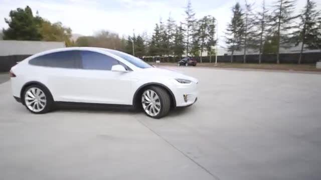 معرفی خودروبرقی تسلا Model X