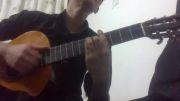 گیتار محمد هاشمی اهنگ چشمای من مرتضی پاشایی.بجنورد