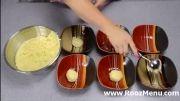 روزمنو - آموزش تهیه و تزئین کیک رنگین کمان