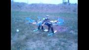 پرواز ربات پرنده اکتاروتور هوابرد