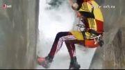 صحنه های هیجان انگیز از ورزش دره نوردی