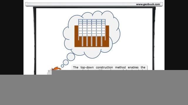 Top-Down construction method / روش از بالا به پائین