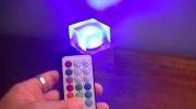 آموزش ساخت : چراغ مکعبی رومیزی بسازید