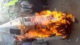 آتش کشیدن آبلیسک روز 22 بهمن 91 توسط جنبش مرصاد 313