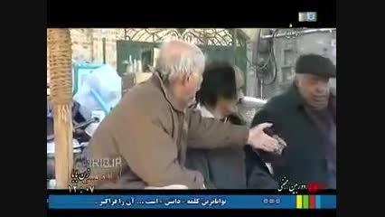 بازی خنده دار علی صادقی در سریال دوربین مخفی