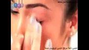 آموزش آرایش چشم و ابرو نقره ای