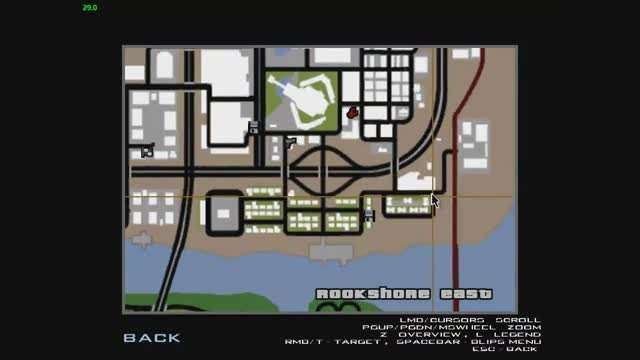 مکان اسلحه های رگبار در جی تی ای5